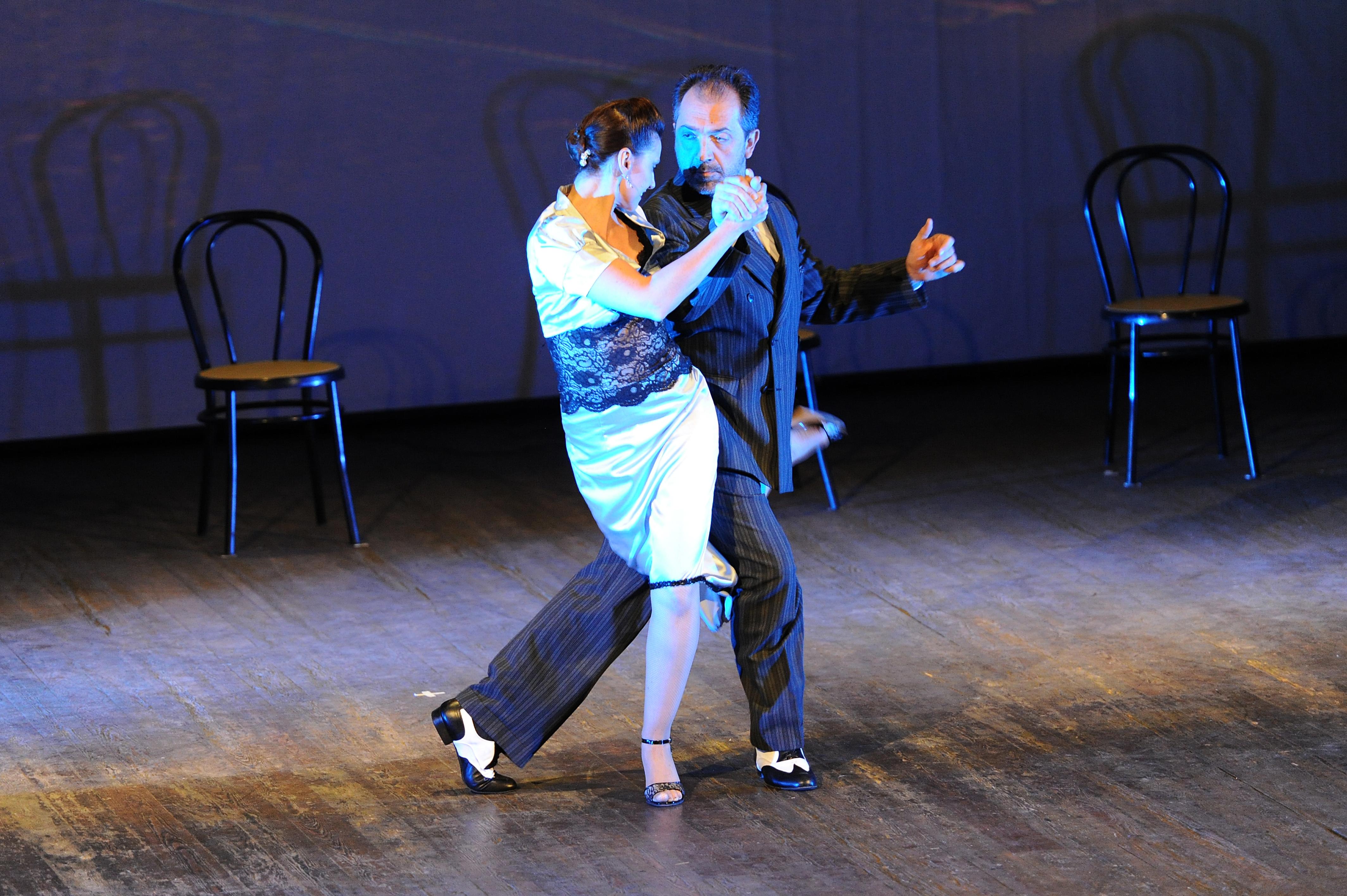 Gustavo y Giselle al Teatro Verdi Cesena 2012