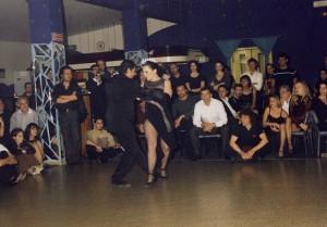 Julio y Corinna Esibizione al Tangram 2001