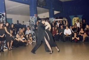 Esibizione al Tangram 2001