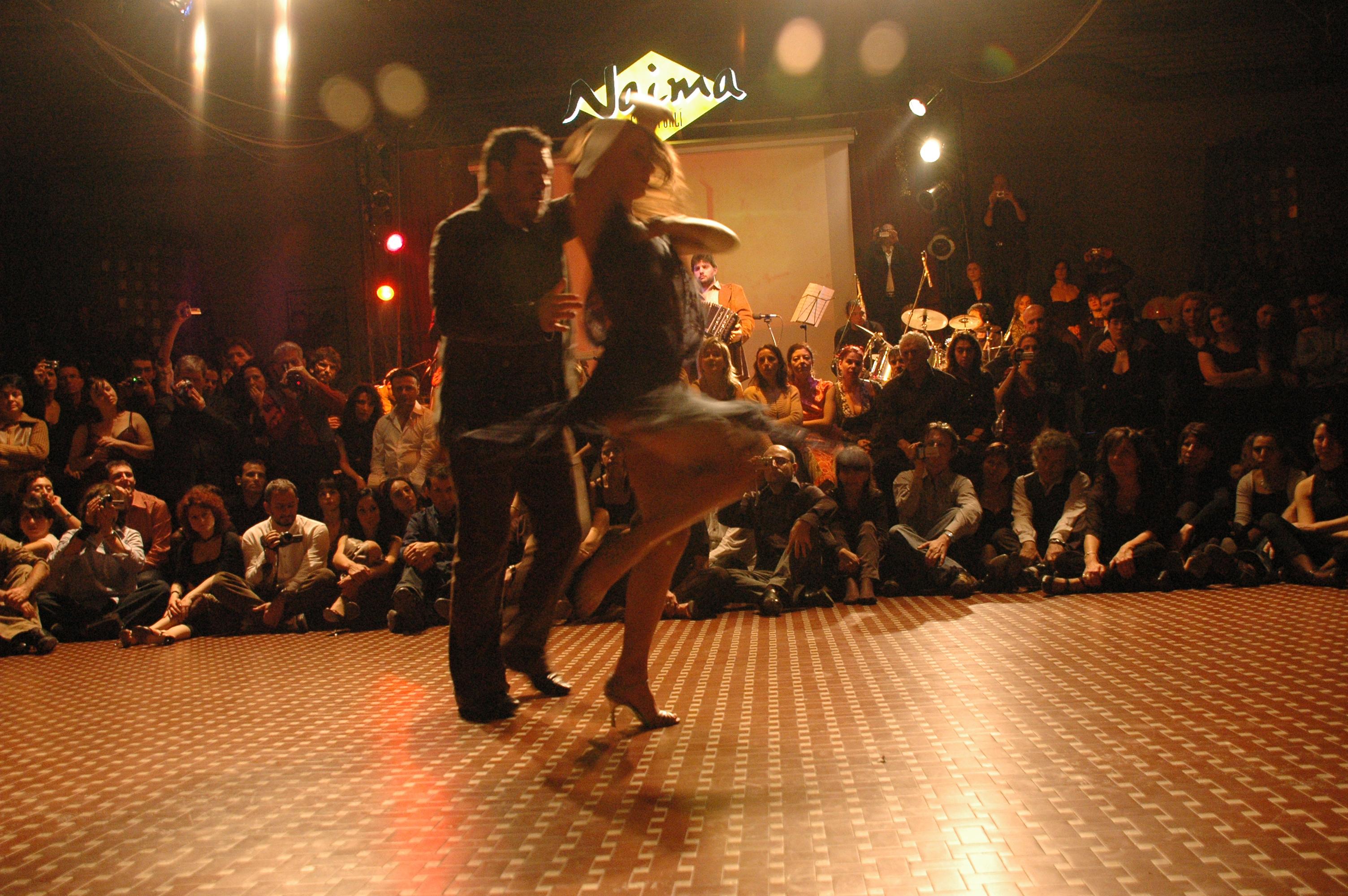 Fabian e Carolina al Naima di Forlì