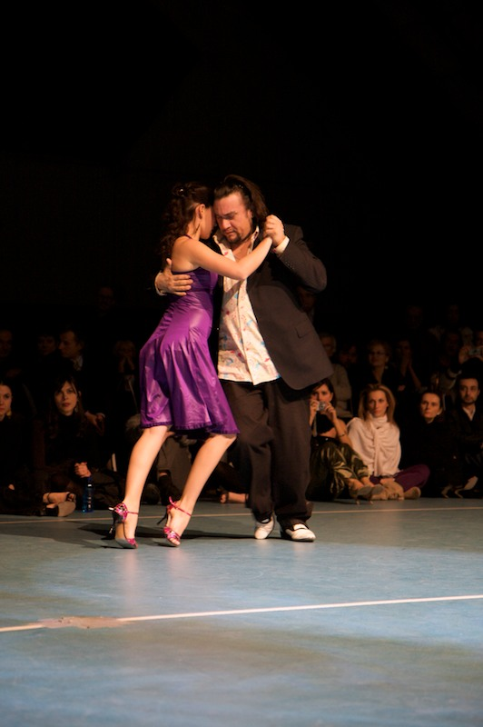 Chicho e Juana a Tango Revolucion 2009