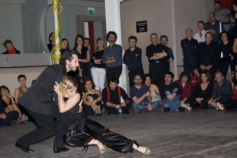 Damian Rosenrhale e Celine Ruiz al Teatro Verdi Tango Revolucion 2009