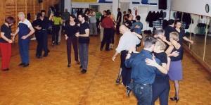 2001 Lezione con Julio e Corinna