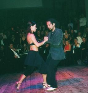 Sebastian Arce e Mariana Montes al Tango Revolucion Cesena Teatro Verdi