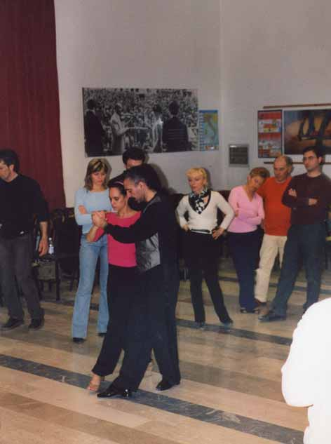 Lezioni alla sala Ptrimavera 3 Cesena di Eduardo e Mariana